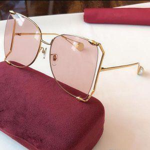 GG. Ladies. Brown Gradient Sunglasses